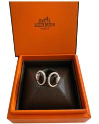 Hermès Nausicaa Silber Ringe - Mettallic
