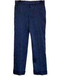 Haider Ackermann Trousers - Blue