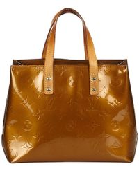 Louis Vuitton - Pre-owned Houston Patent Leather Handbag - Lyst