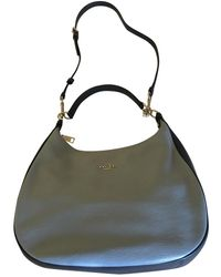 COACH Large Scout Hobo Leather Handbag - Blue