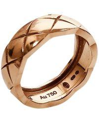 Chanel Coco Crush Gelbgold Ringe - Mehrfarbig