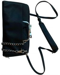 Sonia by Sonia Rykiel Leather Clutch Bag - Black