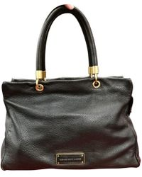 8ce51be429360 Marc By Marc Jacobs Black Dot Embossed Leather Tote in Black - Lyst