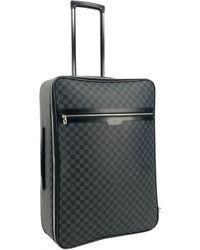 Louis Vuitton Pegase Cloth Travel Bag - Grey