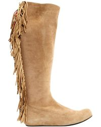 Lanvin - Pre-owned Boots - Lyst