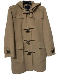 Burberry Wool Dufflecoat - Natural