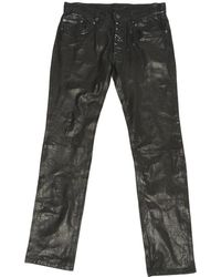 Maison Margiela - Black Leather - Lyst