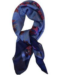 Givenchy Seide Halstuch - Blau