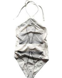 Hermès White Synthetic Swimwear