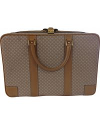 Céline - Beige Leather Travel Bag - Lyst