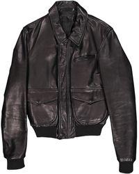 BLK DNM Leather Jacket - Black