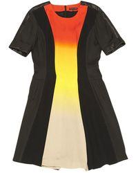 Jonathan Saunders \n Black Silk Dress