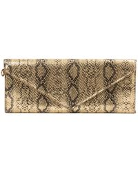 Marc By Marc Jacobs Gold Leather Wallet - Metallic