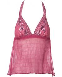 Dior - Pink Silk Lingerie - Lyst