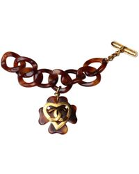 Chanel - Pre-owned Metal Bracelet - Lyst