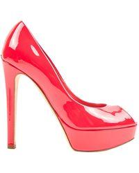 Dior Lackleder Pumps - Pink