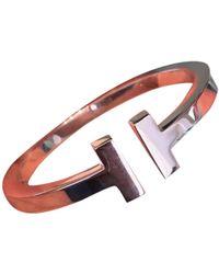 Tiffany & Co. Bracelets Tiffany T en Argent Argenté - Multicolore
