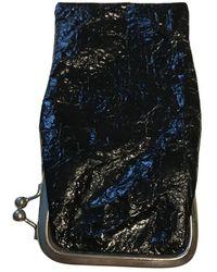 Maison Margiela Leather Small Bag - Black