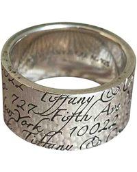 Tiffany & Co. Return To Tiffany Silver Silver Ring - Multicolor