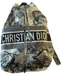 Dior Cloth Handbag - Blue