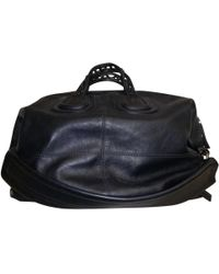 Lyst - Givenchy Nightingale Leather Weekend Bag in Black for Men be1210a6e0346