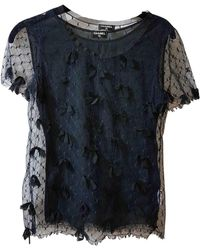 Chanel - Blue Polyester Top - Lyst