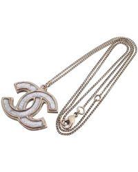 Chanel Collar en metal CC - Multicolor
