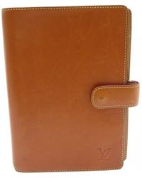 Louis Vuitton - Brown Leather Home Decor - Lyst