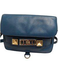 Proenza Schouler Ps11 Leather Crossbody Bag - Blue