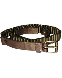 Céline Metallic Metal Belt