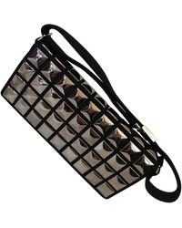 Chanel Leinen Handtaschen - Schwarz