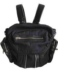 Alexander Wang Marti Black Linen Handbag