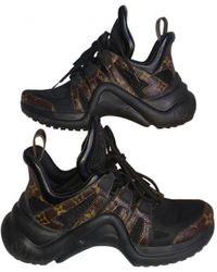 Louis Vuitton Sneakers Archlight in Tela - Nero