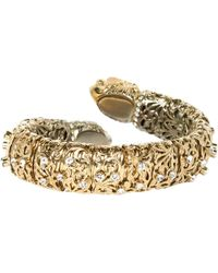 Roberto Cavalli - Pre-owned Gold Metal Bracelets - Lyst