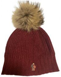 Moncler Bonnet en laine - Multicolore