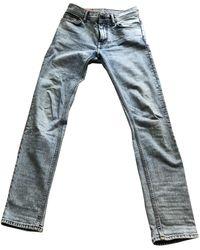 Acne Studios Jeans in cotone - elastan blu