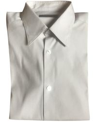 Louis Vuitton Chemises en Coton Beige - Neutre