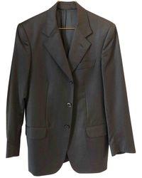 Loro Piana Grey Wool Suits