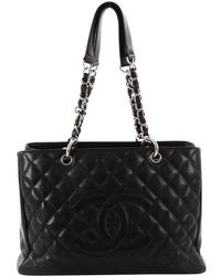 Chanel - Grand Shopping Leather Crossbody Bag - Lyst