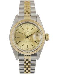 Rolex Reloj en oro y acero dorado Lady DateJust 26mm - Metálico