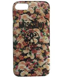 Moschino Cloth Phone Charm - Multicolour