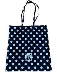 Comme des Garçons Navy Cotton Bag - Blue