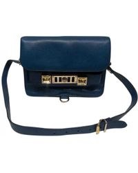 Proenza Schouler - Pre-owned Navy Leather Handbags - Lyst