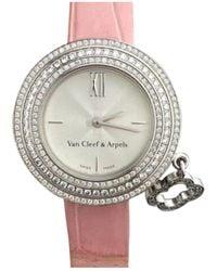 Van Cleef & Arpels Charms White Gold Watch