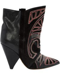 Isabel Marant - Pre-owned Blackson Ankle Boots - Lyst