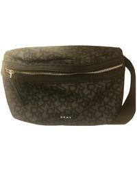 DKNY Cloth Handbag - Black