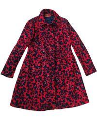 Missoni Wool Coat - Red