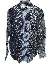 Givenchy Chemises en Soie Noir