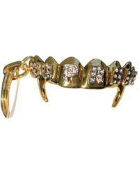 Supreme Gold Metal Small Bag Wallets & Cases - Metallic