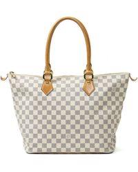 Louis Vuitton Saleya Cloth Handbag - Natural
